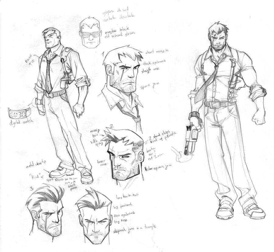Vtc Game Design Character Development : New project character design by carlosgomezartist on