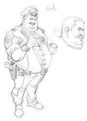 Character design: FB  Carl by CarlosGomezArtist