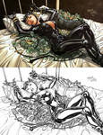 Catwoman pin-up