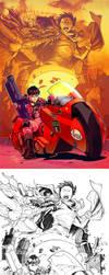 Akira by CarlosGomezArtist