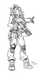 Shiro sketch commission by CarlosGomezArtist