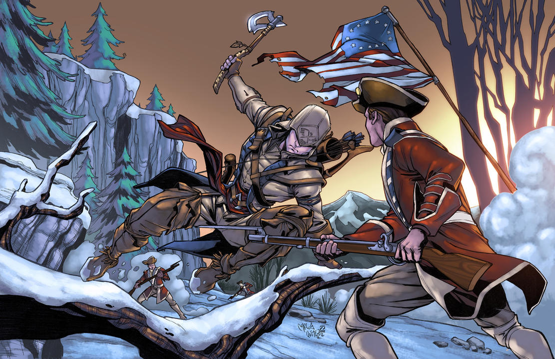 Assassin's Creed III by CarlosGomezArtist