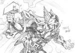 Thor sketch commisison