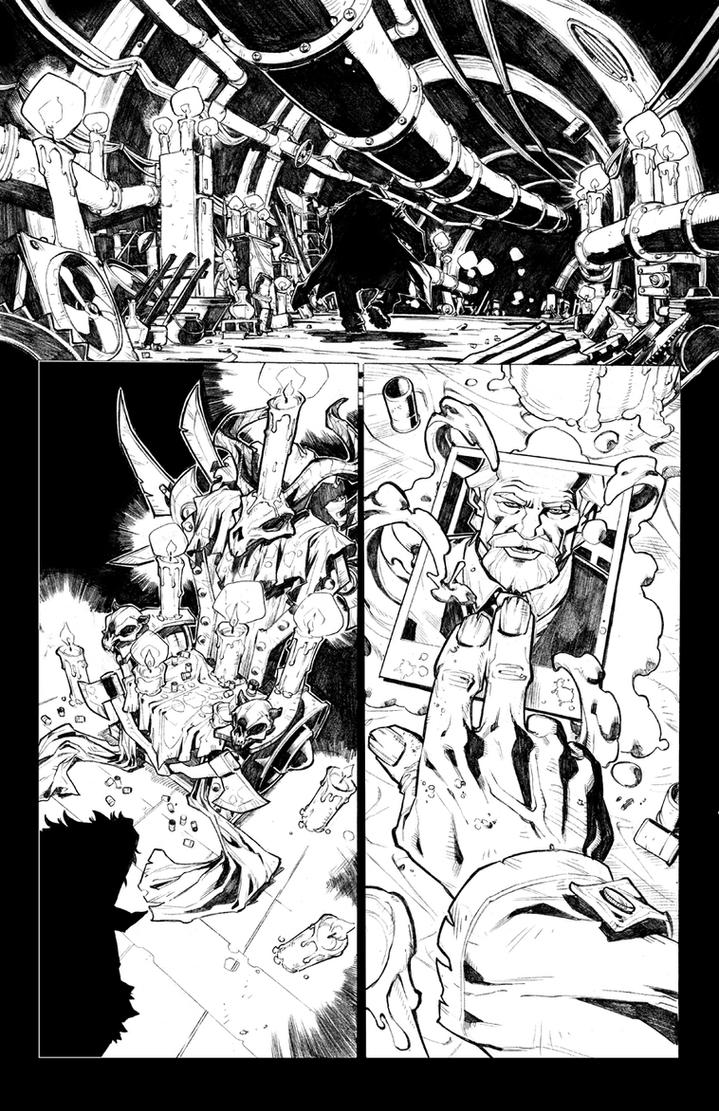 Jim Butcher's DRESDEN FILES:DOWNTOWN #1 sneak peek by CarlosGomezArtist