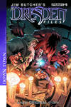 Jim Butcher's DRESDEN FILES:DOWNTOWN #5 cover