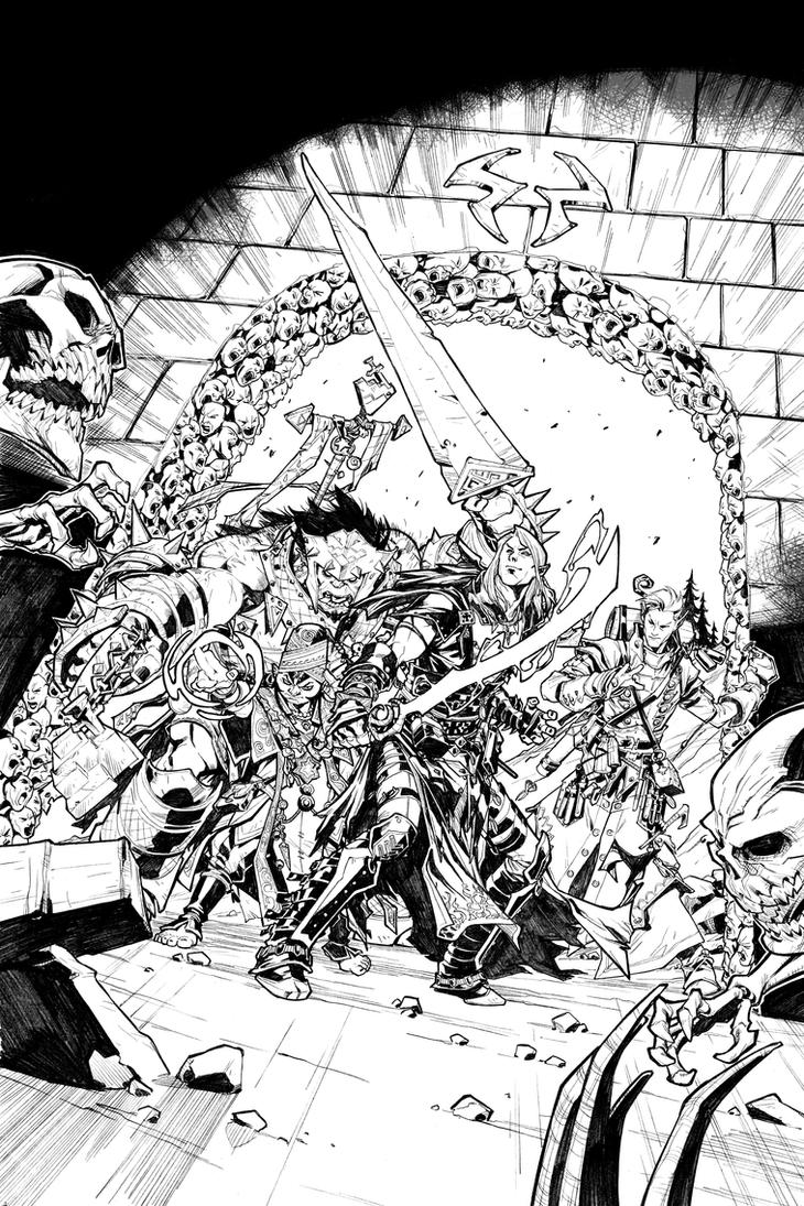 PATHFINDER: HOLLOW MOUNTAIN #2 COVER by CarlosGomezArtist