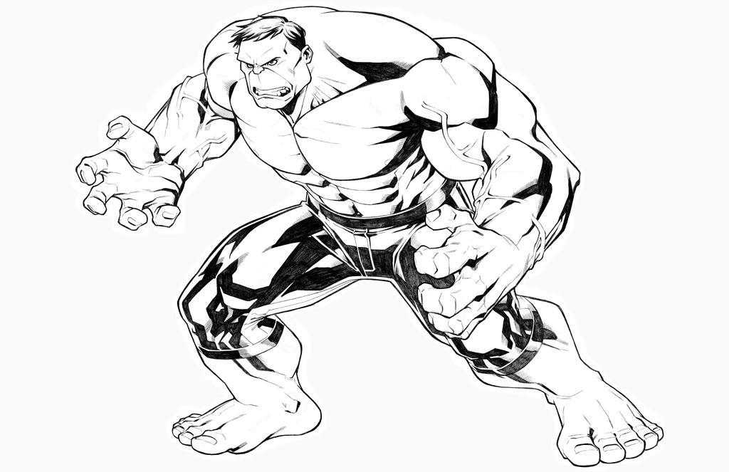Hulk by CarlosGomezArtist