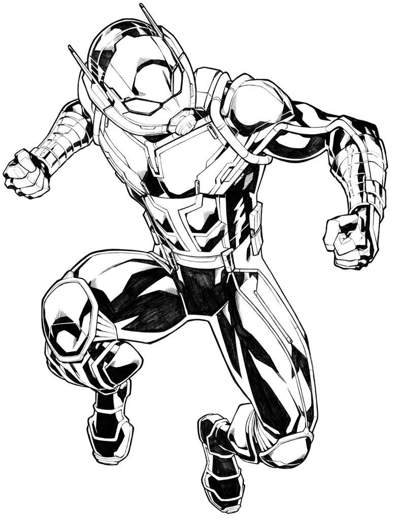 Ant-Man by CarlosGomezArtist on DeviantArt