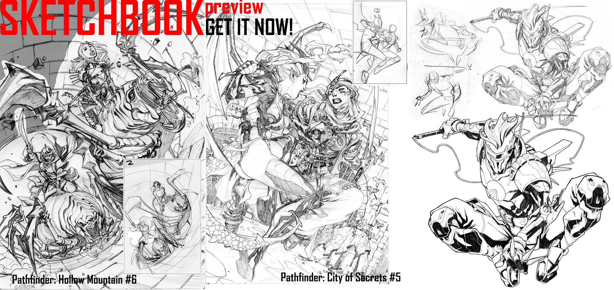 SKETCHBOOK Preview! by CarlosGomezArtist