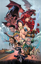 RED SONJA #16 - COVER -Colors