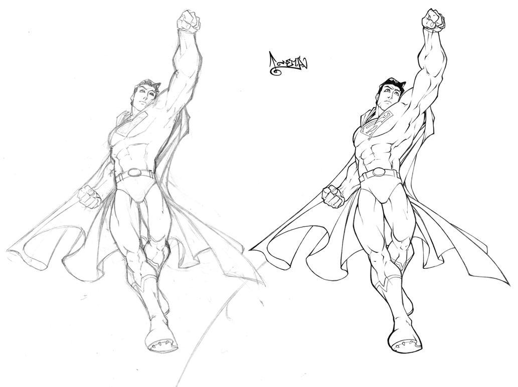 superman by carlosgomezartist on deviantart