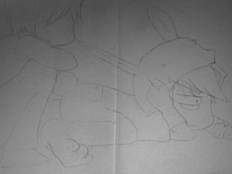 Junjou Romantica -Bunny Suit by Forgotten-Thorn