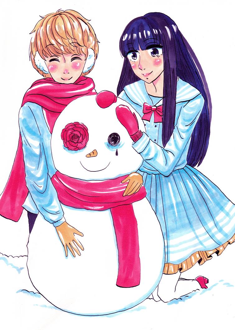 Snowman by monsieurmouton