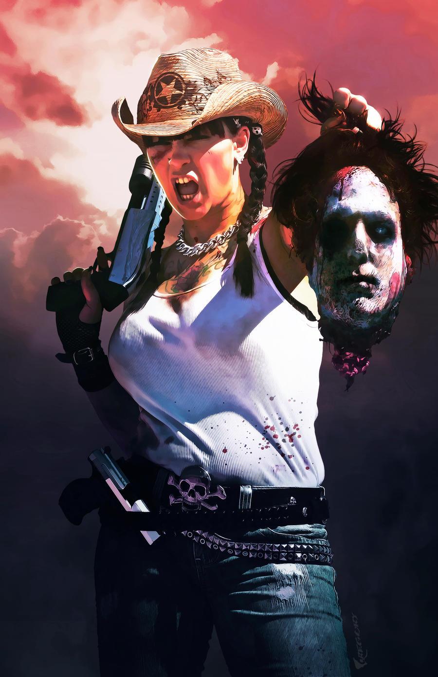 Issue 1 of Zombie Hunter X by Everette Hartsoe by EVERETTEHARTSOE