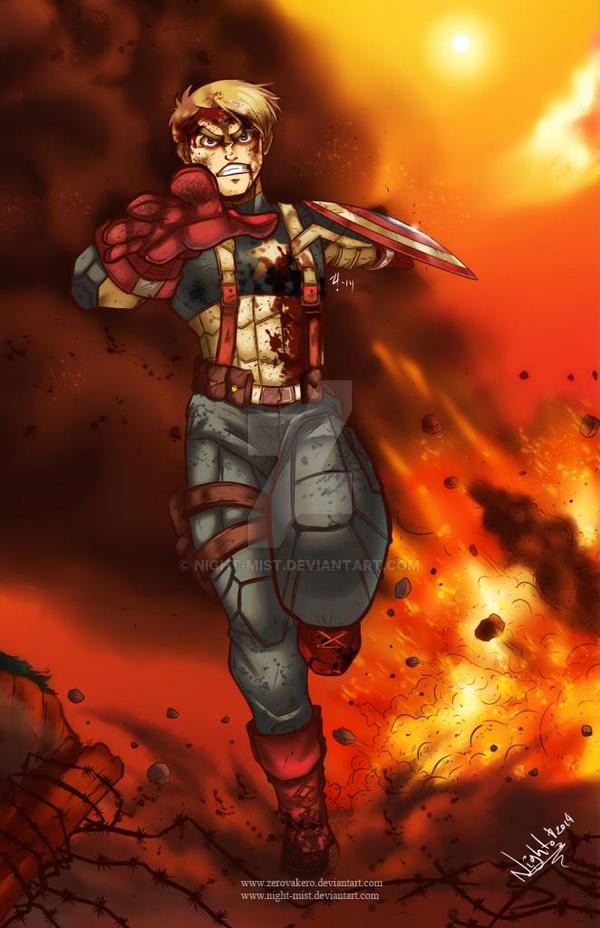 Captain America- Civil war by Night-mist