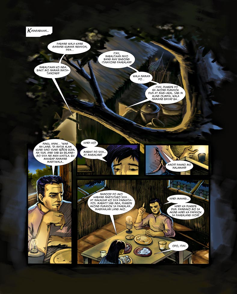 comics by jose rizal 11062018  life and works of jose rizal historical context of the rizal law this lesson provides a discussion on the historical context and contents of the rizal.