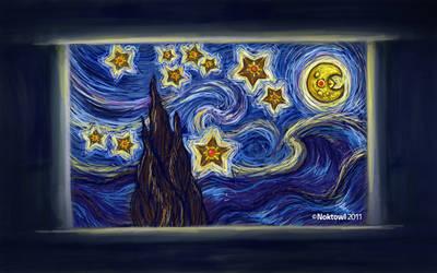 The Staryu Night by Noktowl