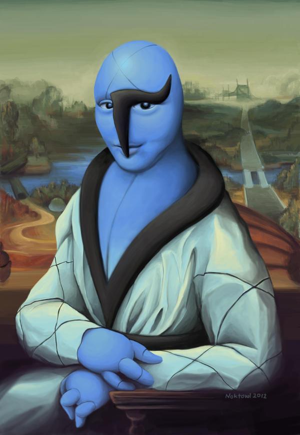 Mona Lisawk by Noktowl