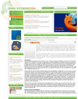 GEEK EXTREME Web Design 2