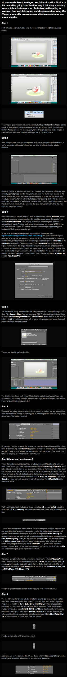 AfterEffects for PS users by PascalPixel