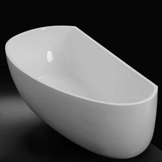 Back To Wall Freestanding Bath In Richmond by acsdesignerbathrooms