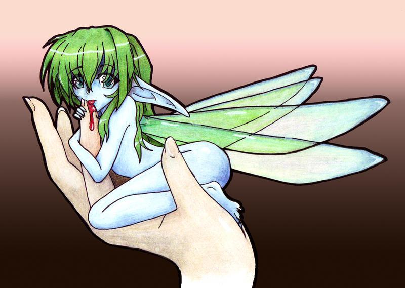 What do Fairies eat? by LeRochelle on DeviantArt