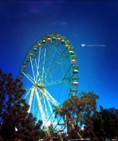 ferris wheel by tomatokisses