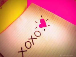 xoxo heart by tomatokisses