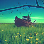 Guille's Boat by tomatokisses