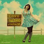 love retro vintage
