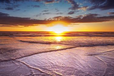 Ruapuke Beach Sunset