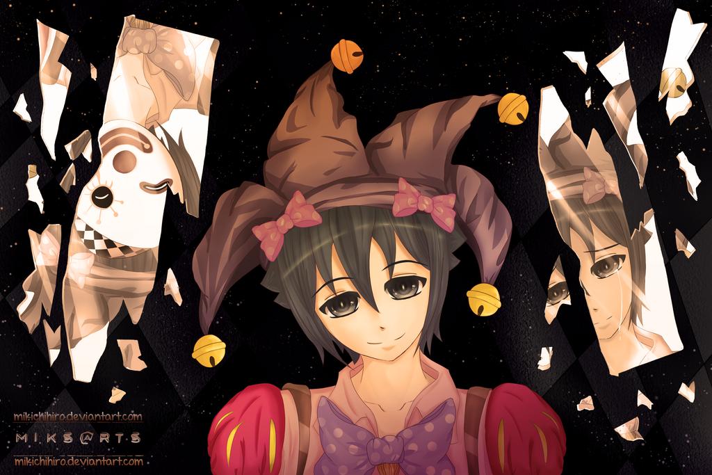 Mr. Pierrot by mikichihiro