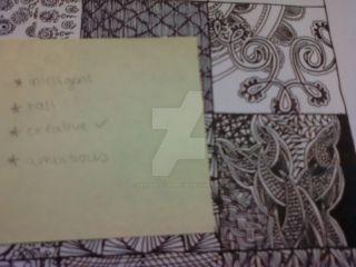 Zentangle #1 by heaven-is-lonely