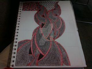 Zentangle (WiP#1) by heaven-is-lonely