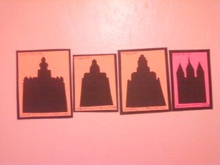 LDS Temple Cut Out Mini-Display by heaven-is-lonely