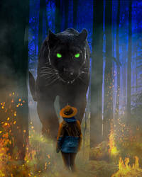 Blackpanther In Forest2