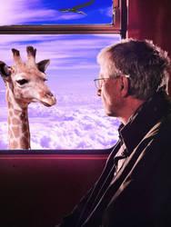 Man With_giraffe