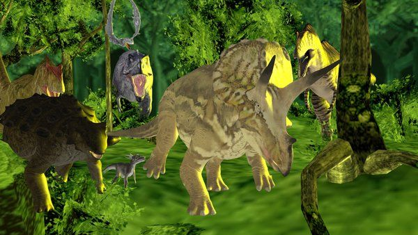 MMD Mega Prehistoric Pack DL by ChrisM199