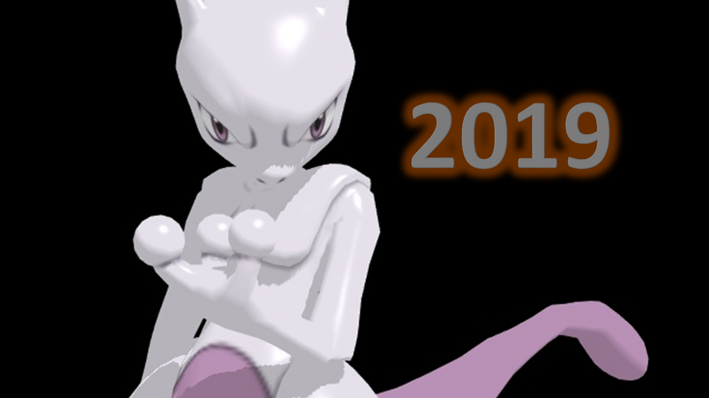 Mewtwo Strikes Back Evolution 2019 Poster by ChrisM199