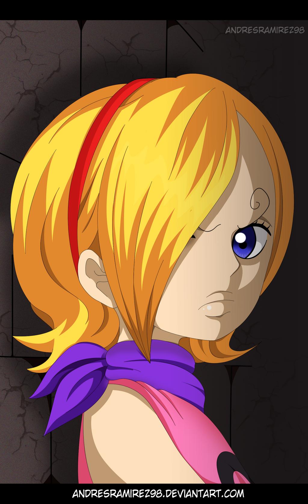 One Piece 841 - Vinsmoke Reiju by AndresRamirez98 on ...
