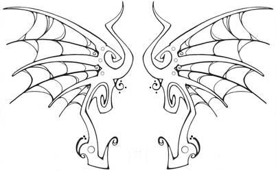 web wings design