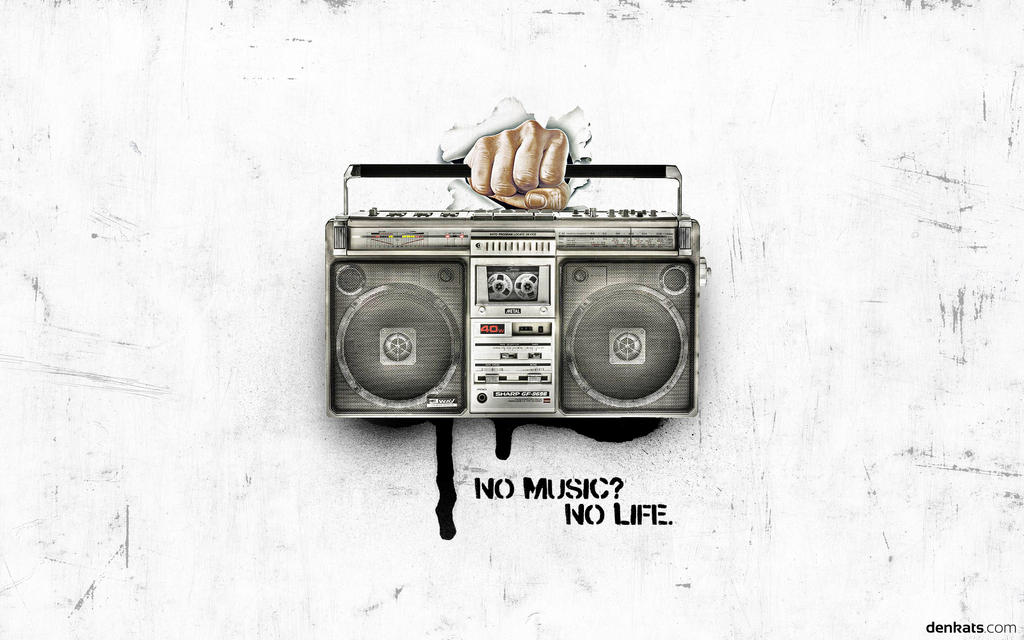 No Music? No Life. - Wallpaper 2011 by denkats