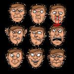 Doomguy Faces