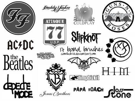 17 Bands Brushes