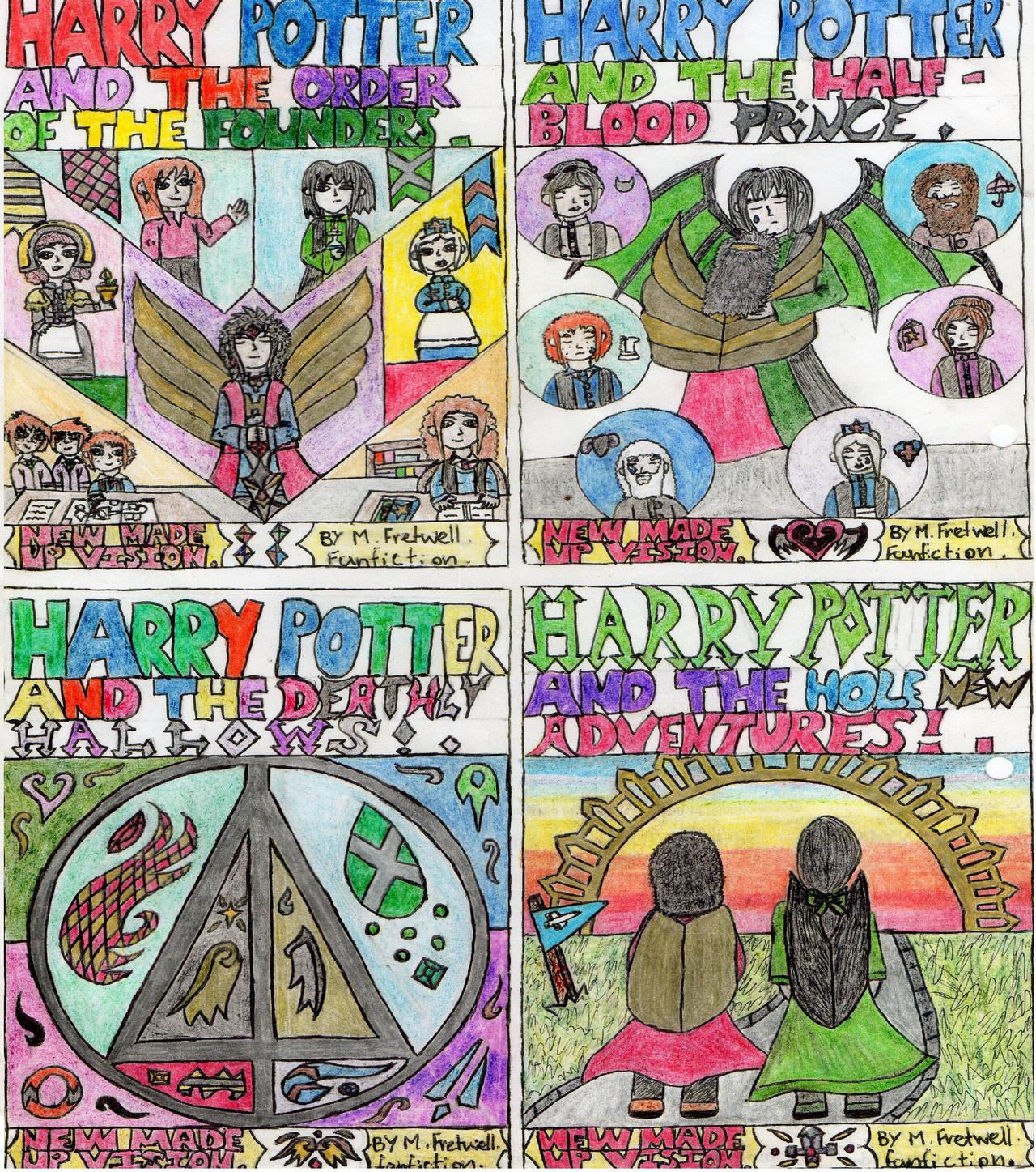Harry potter cover design part 2 by kingfret
