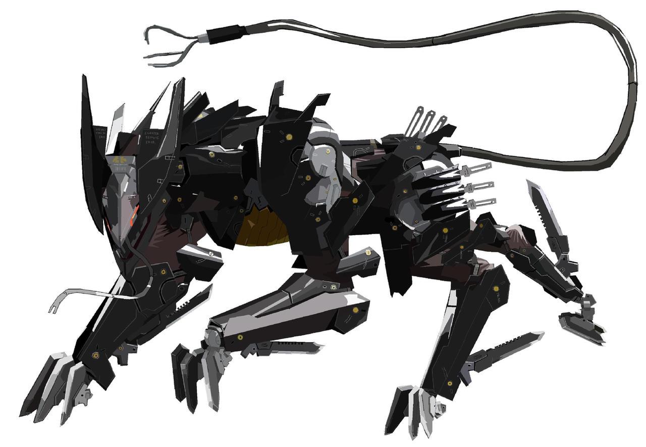 Bladewolf by kingfret