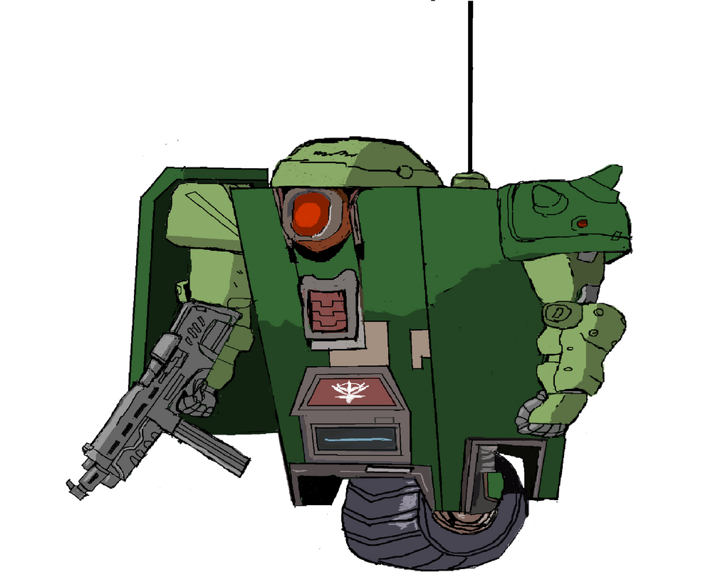 Claptrap in a zeon style by kingfret