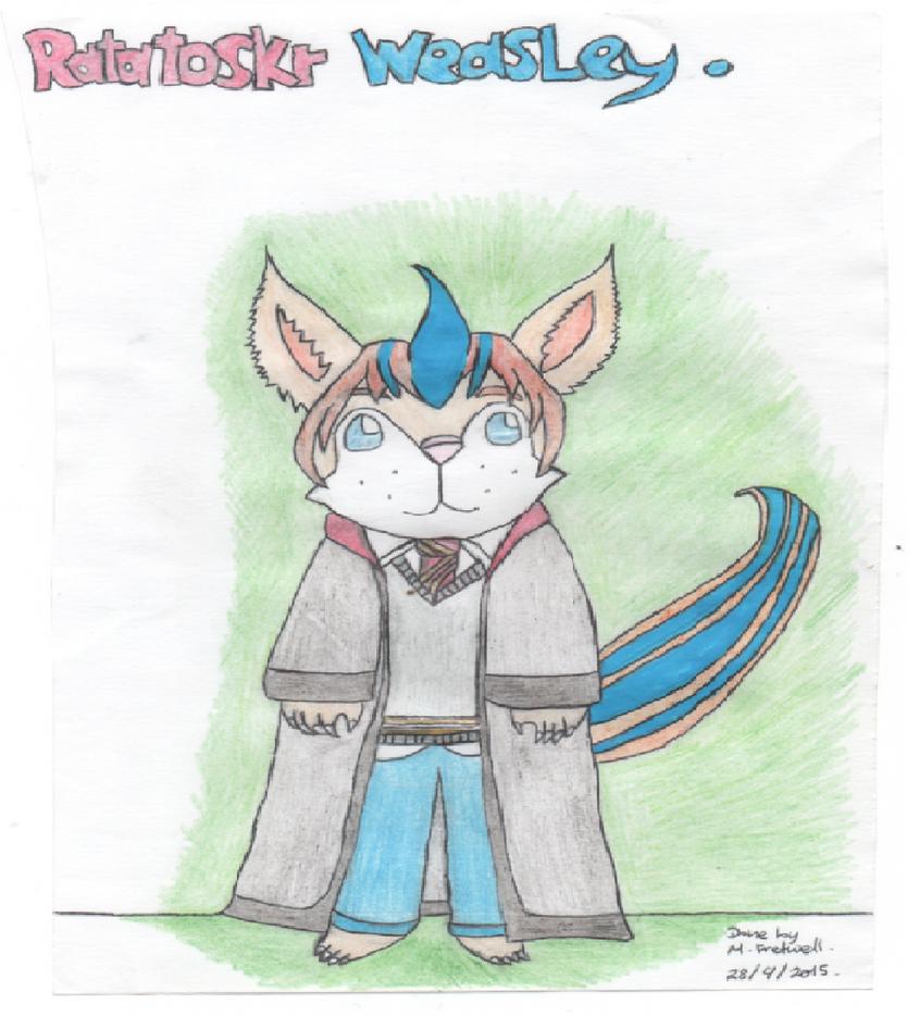 Ratatoskr Weasley by kingfret