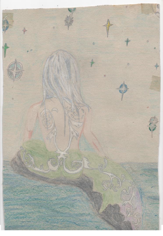 Starlight Mermaid. by kingfret