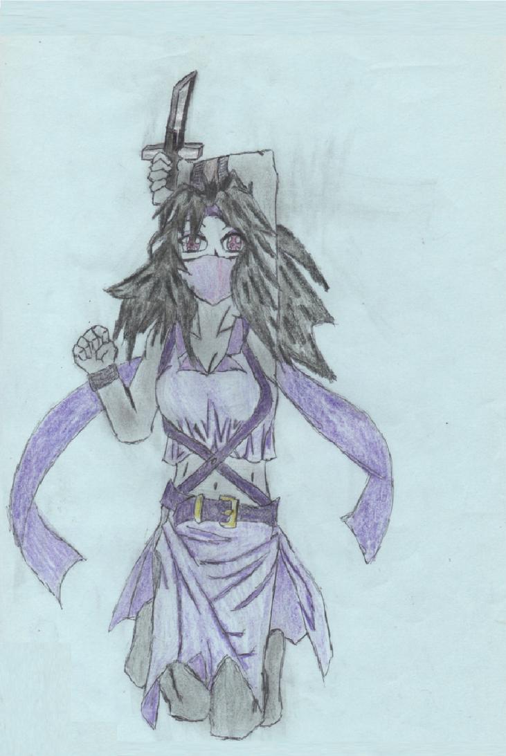 Female assassin. by kingfret